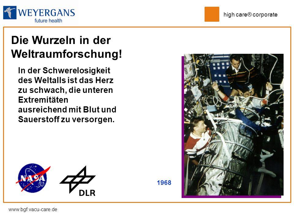 Die Wurzeln in der Weltraumforschung!