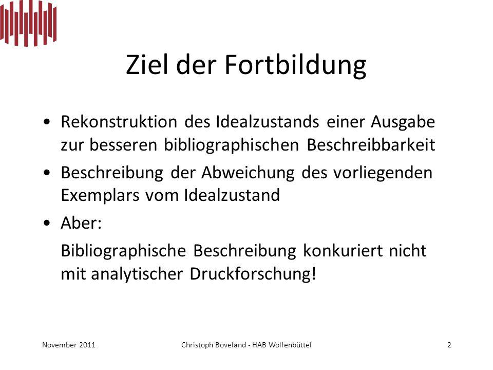 Fortbildung Vom Manuskript zum fertigen Druck , 16.11.2011