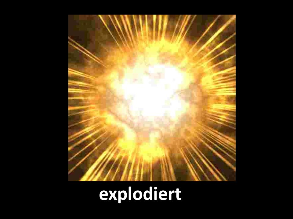 explodiert