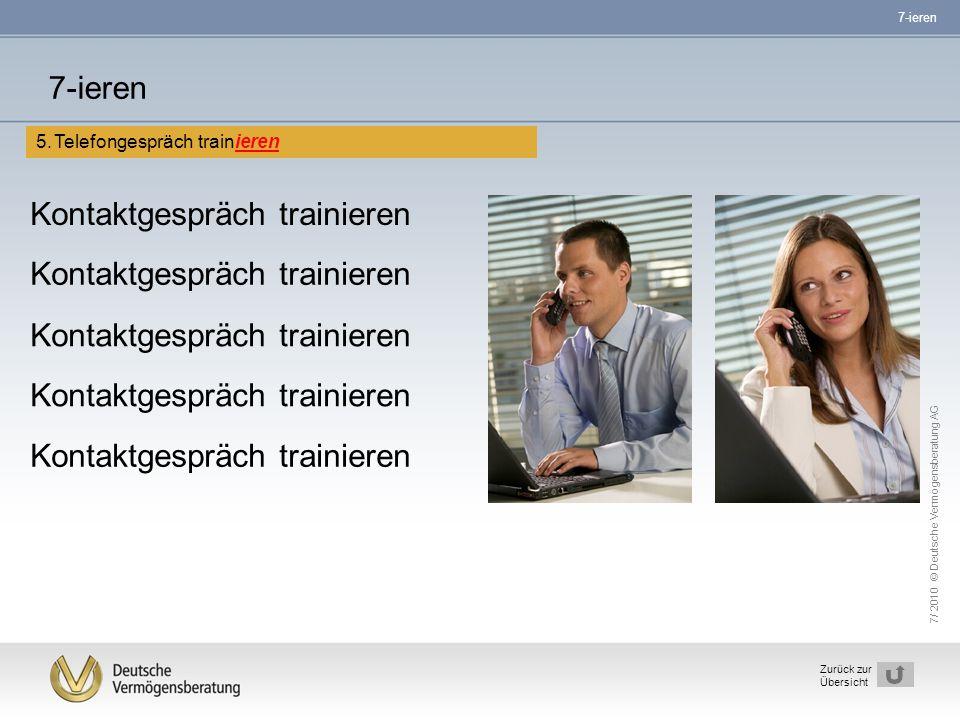Kontaktgespräch trainieren