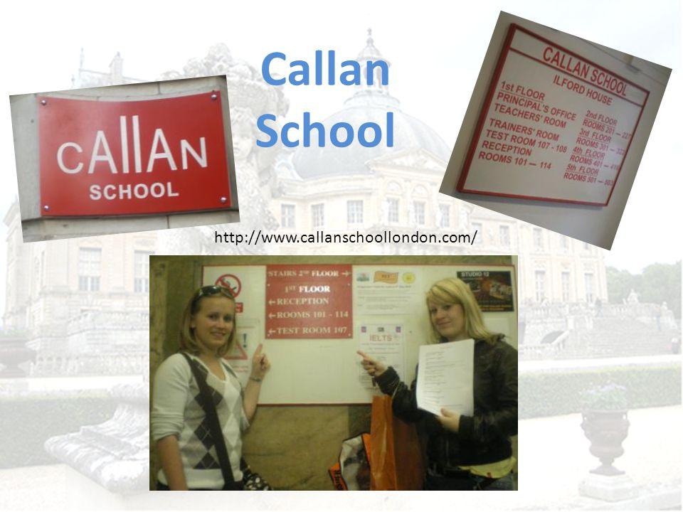 Callan School http://www.callanschoollondon.com/