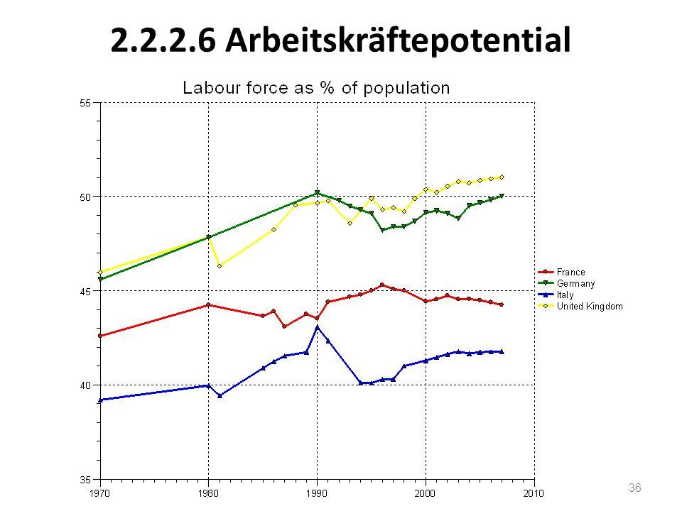 2.2.2.6 Arbeitskräftepotential