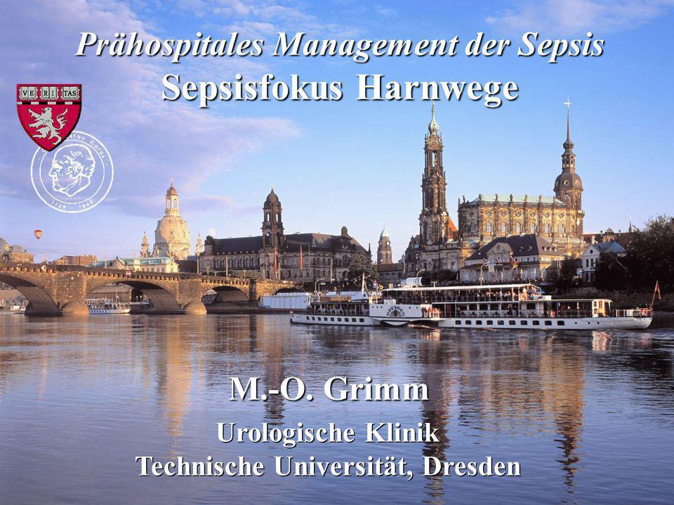 Prähospitales Management der Sepsis Technische Universität, Dresden