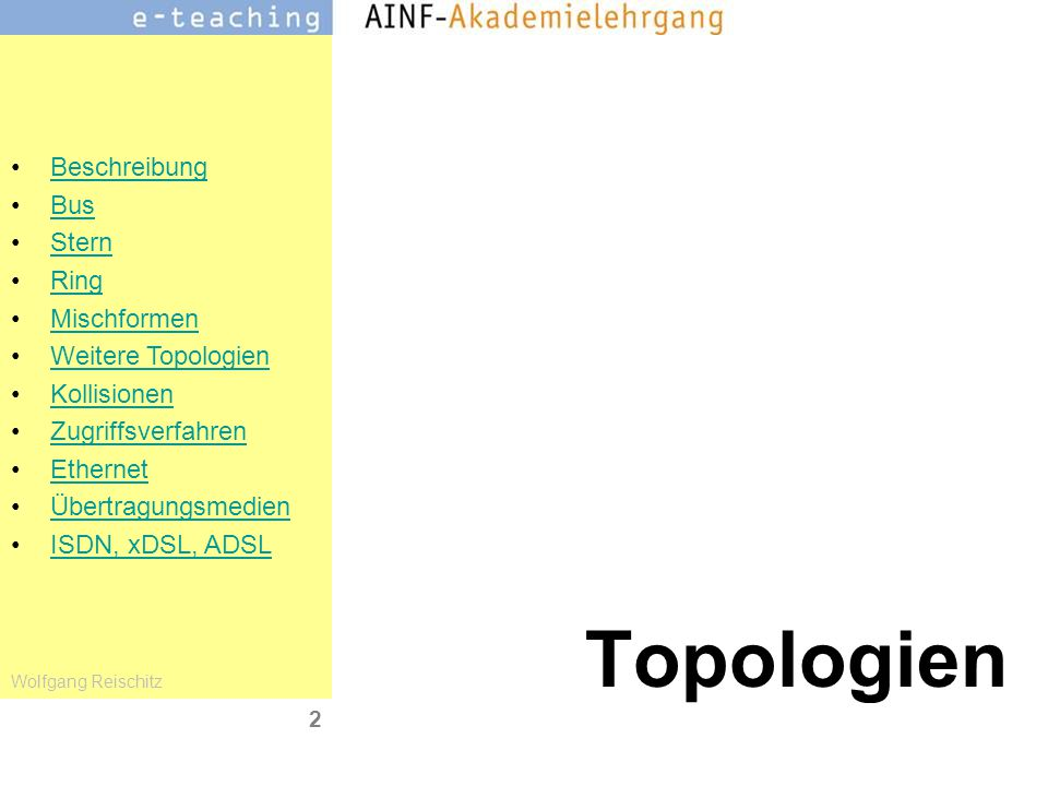 Topologien