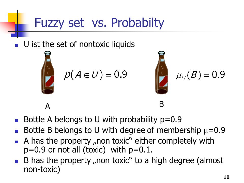 Fuzzy set vs. Probabilty