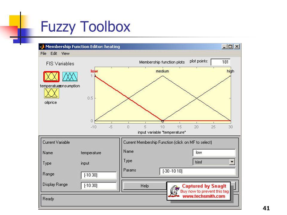 Fuzzy Toolbox