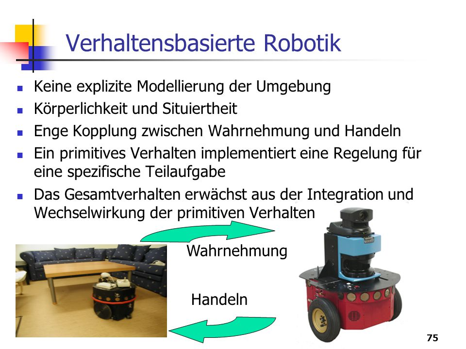 Verhaltensbasierte Robotik