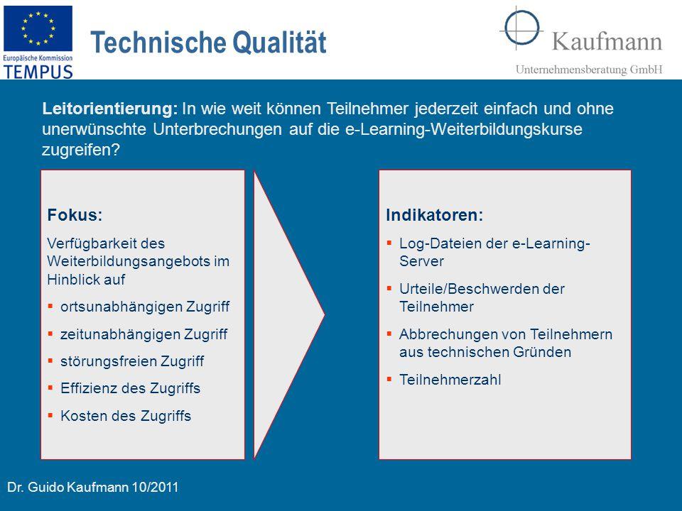Technische Qualität