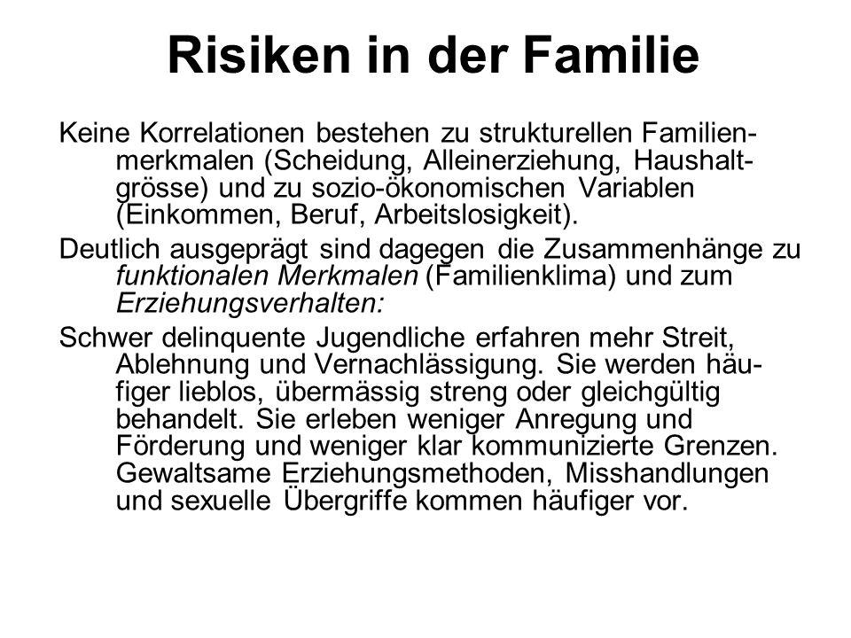 Risiken in der Familie