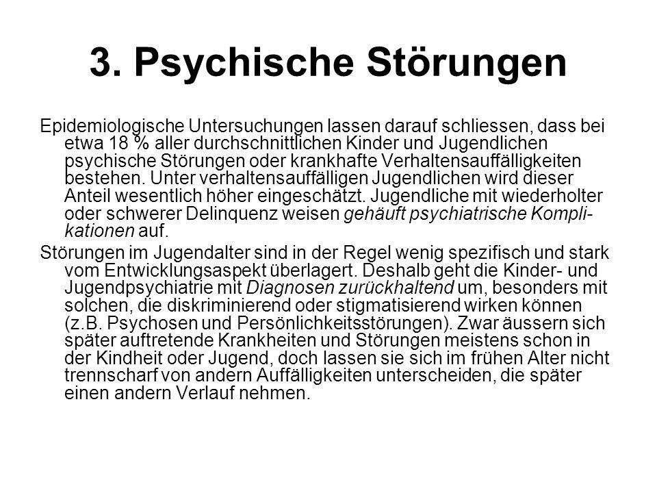 3. Psychische Störungen