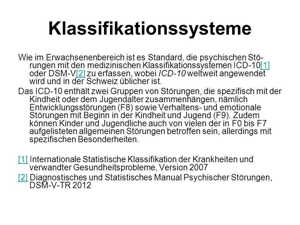 Klassifikationssysteme
