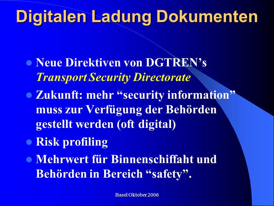 Digitalen Ladung Dokumenten