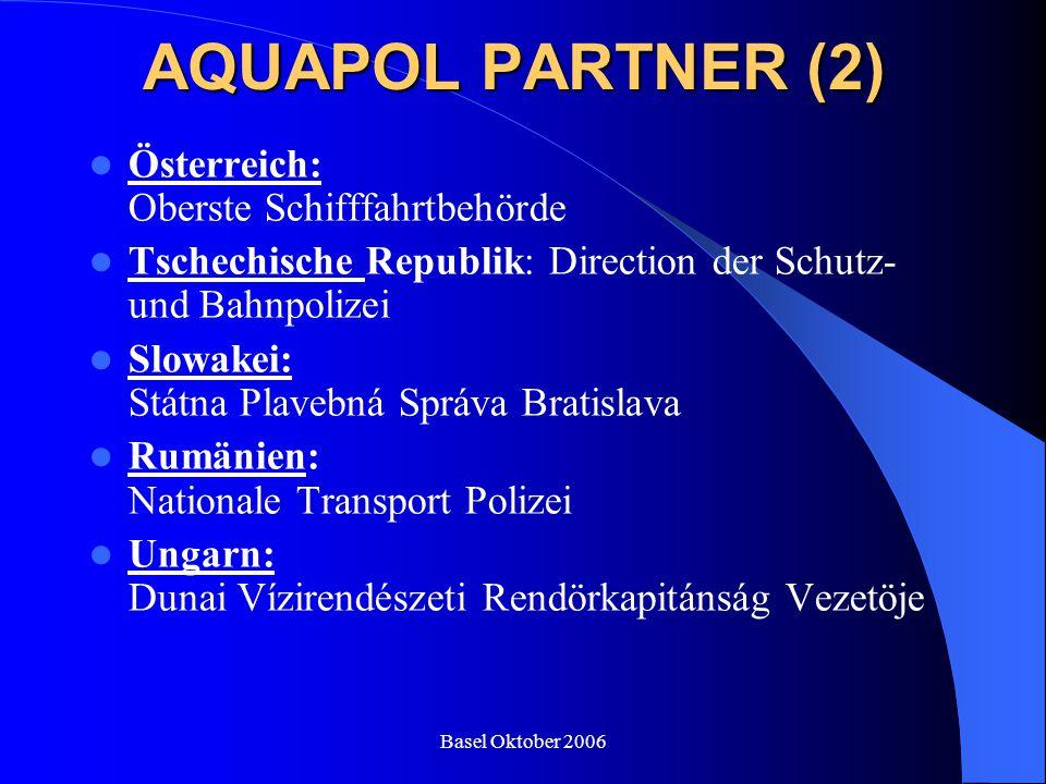 AQUAPOL PARTNER (2) Österreich: Oberste Schifffahrtbehörde