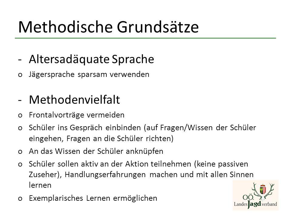 Methodische Grundsätze