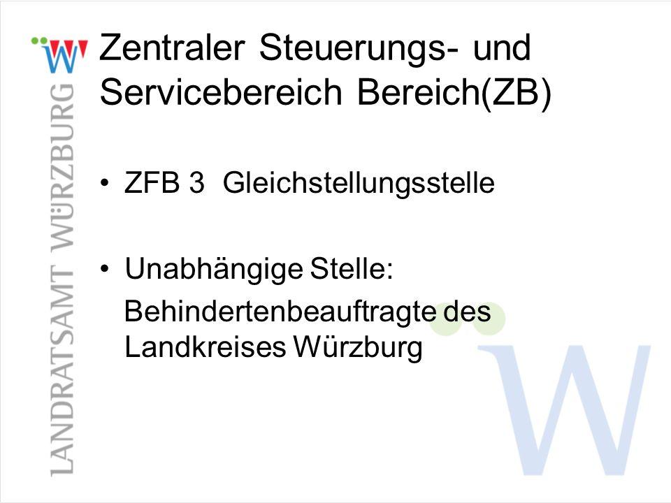 Zentraler Steuerungs- und Servicebereich Bereich(ZB)