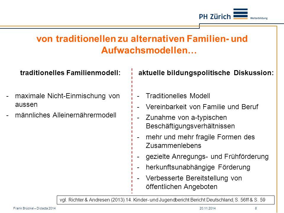 von traditionellen zu alternativen Familien- und Aufwachsmodellen…