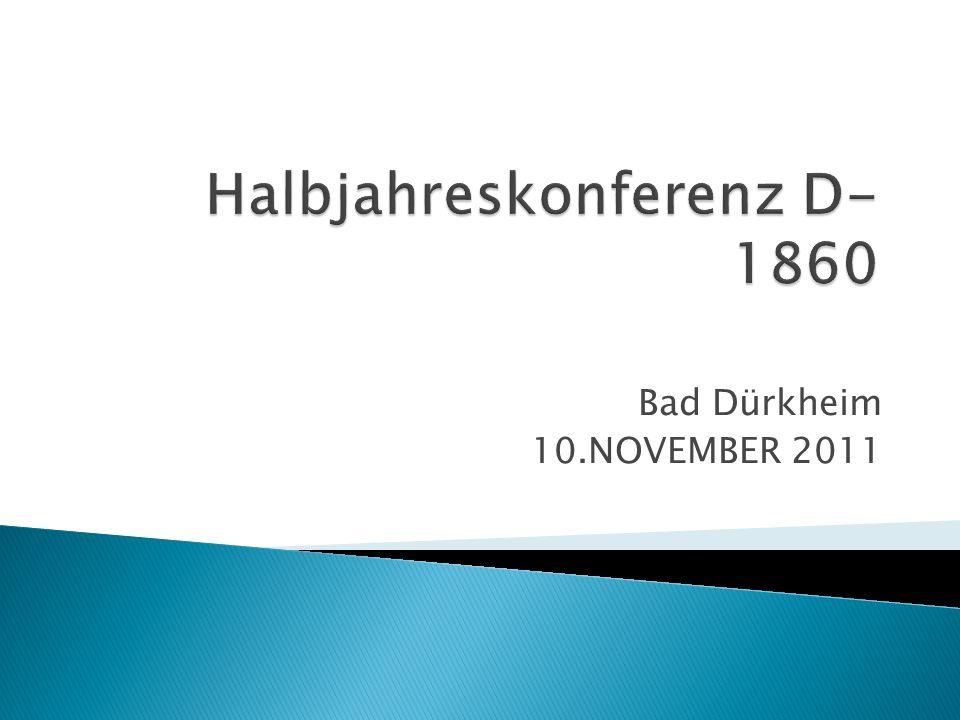 Halbjahreskonferenz D-1860