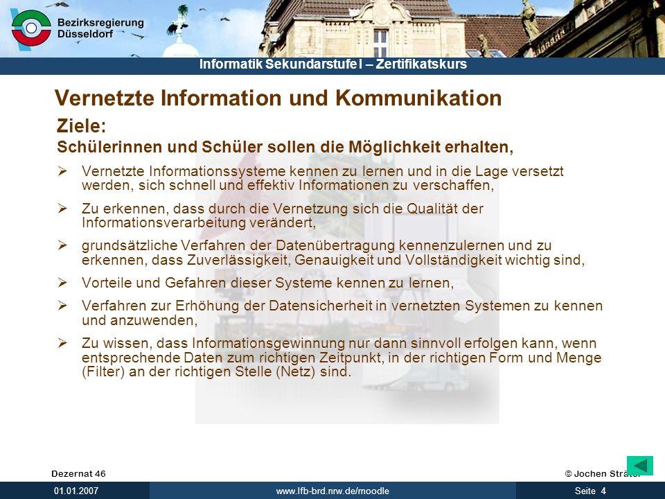 Vernetzte Information und Kommunikation