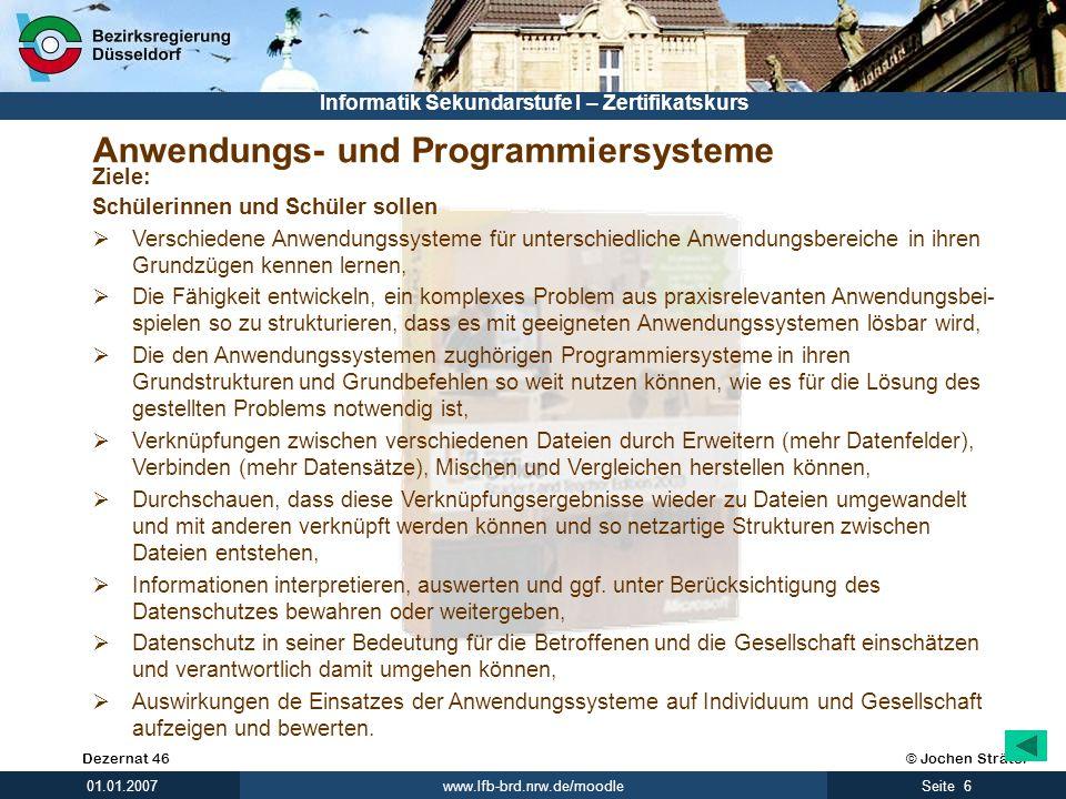 Anwendungs- und Programmiersysteme
