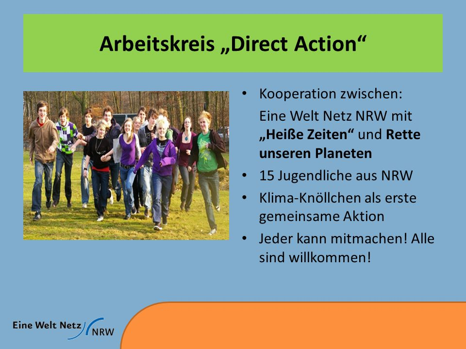 "Arbeitskreis ""Direct Action"