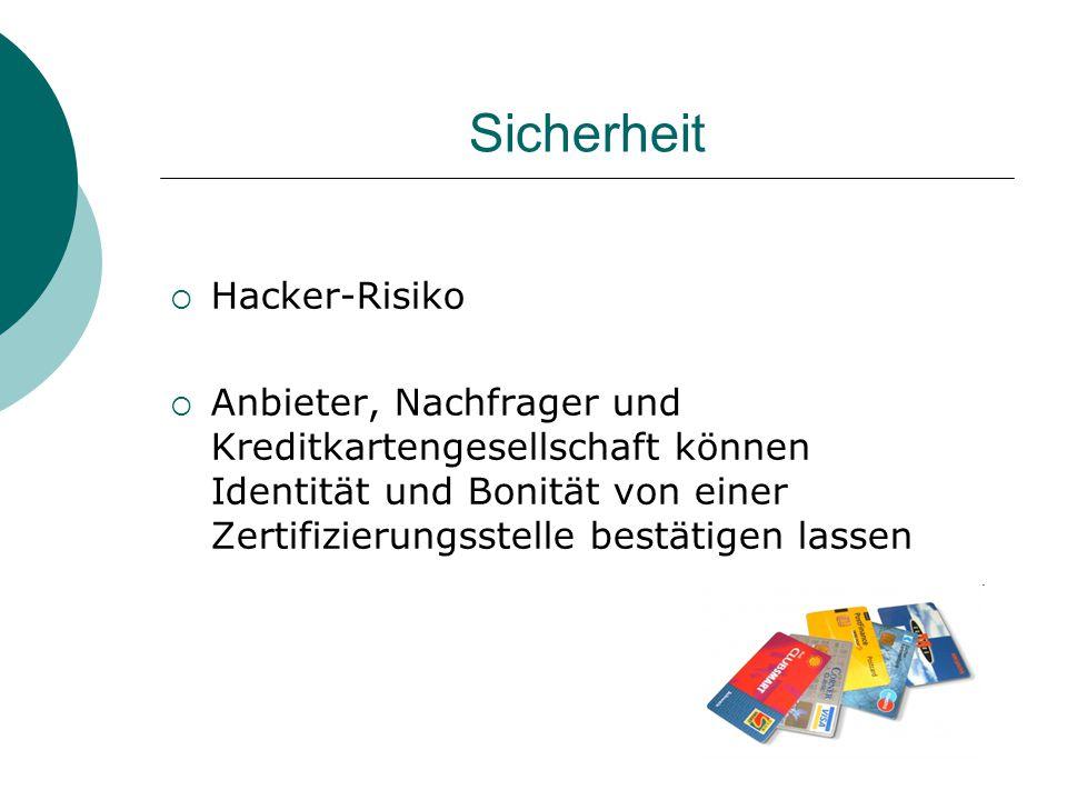 Sicherheit Hacker-Risiko