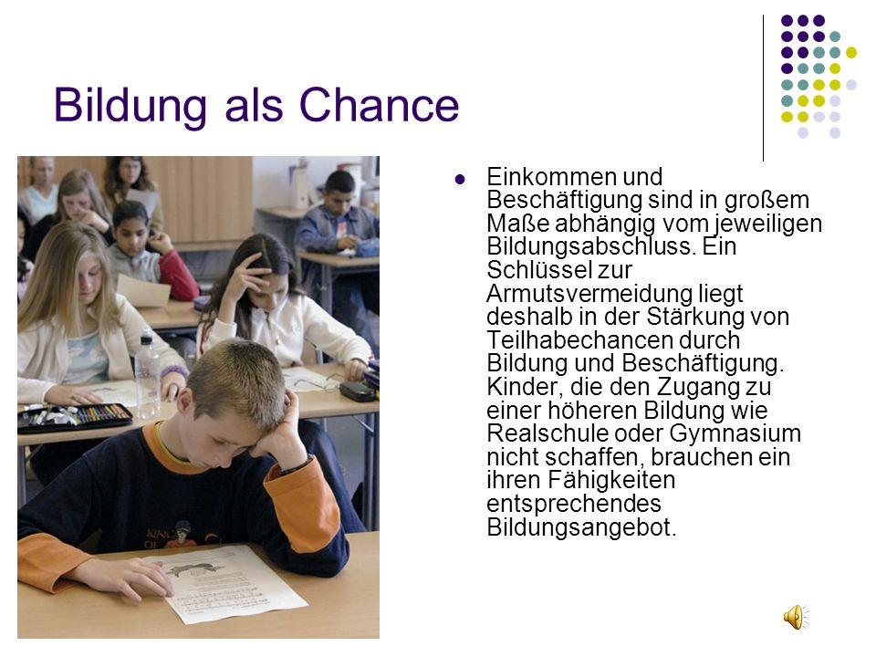 Bildung als Chance