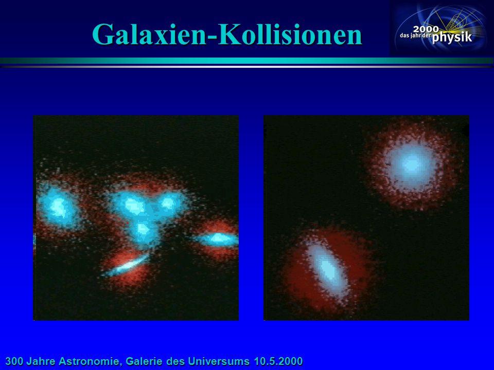 Galaxien-Kollisionen