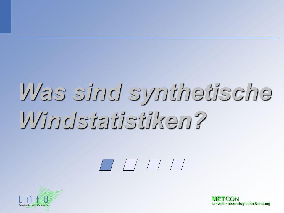 Was sind synthetische Windstatistiken