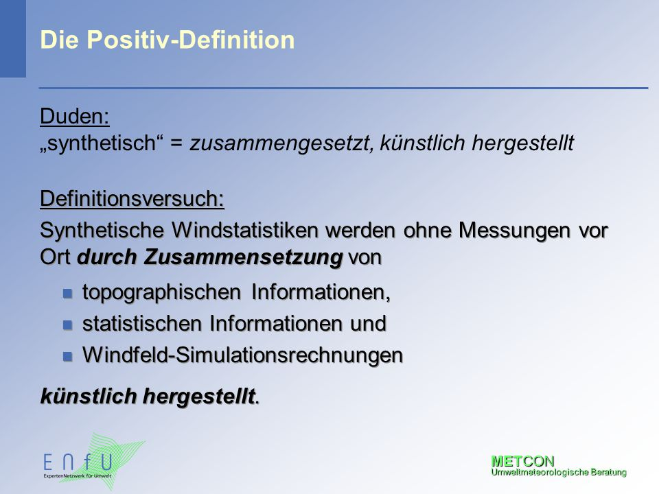 Die Positiv-Definition