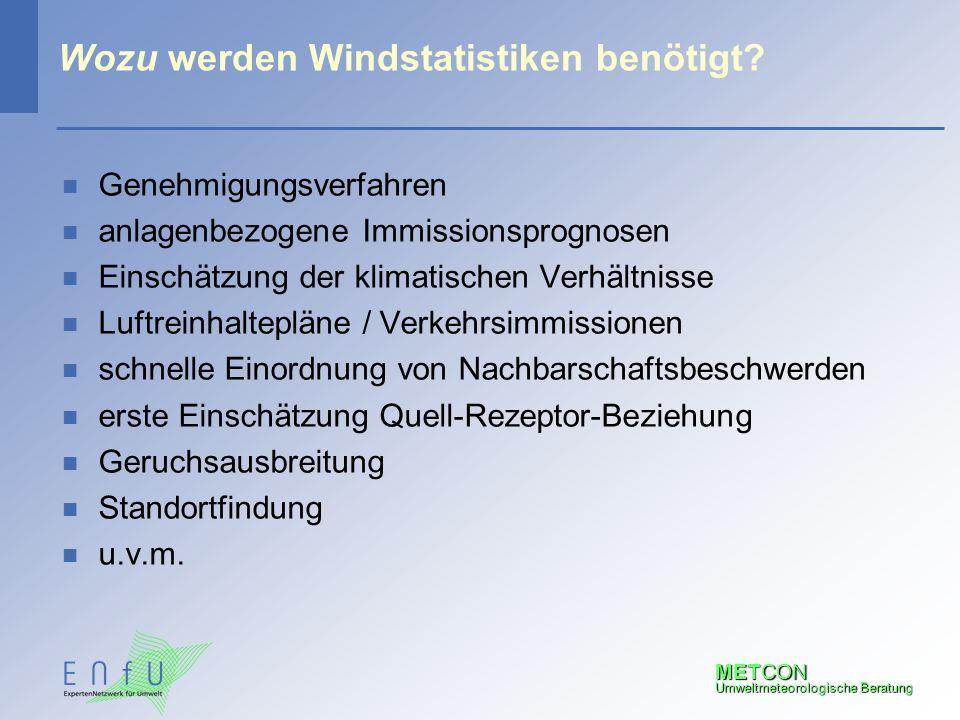 Wozu werden Windstatistiken benötigt