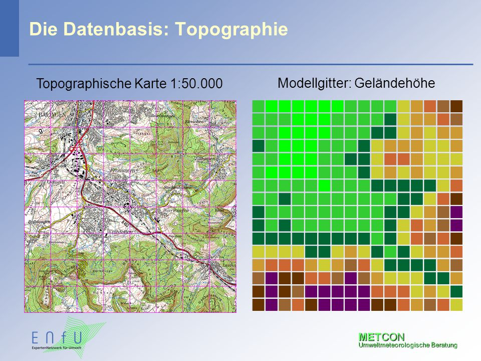 Die Datenbasis: Topographie