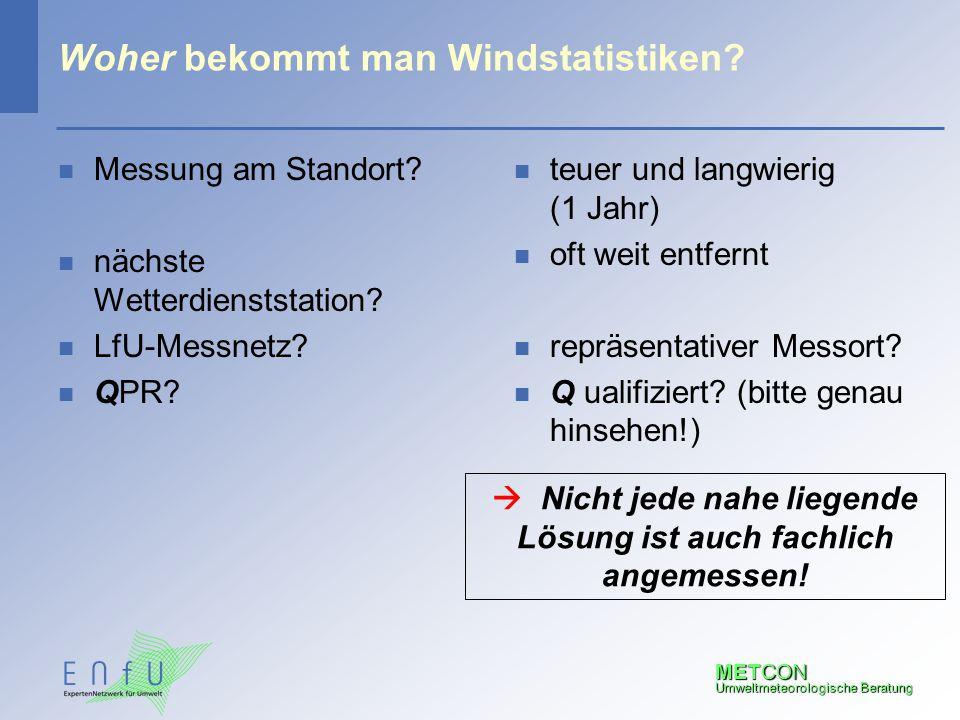 Woher bekommt man Windstatistiken