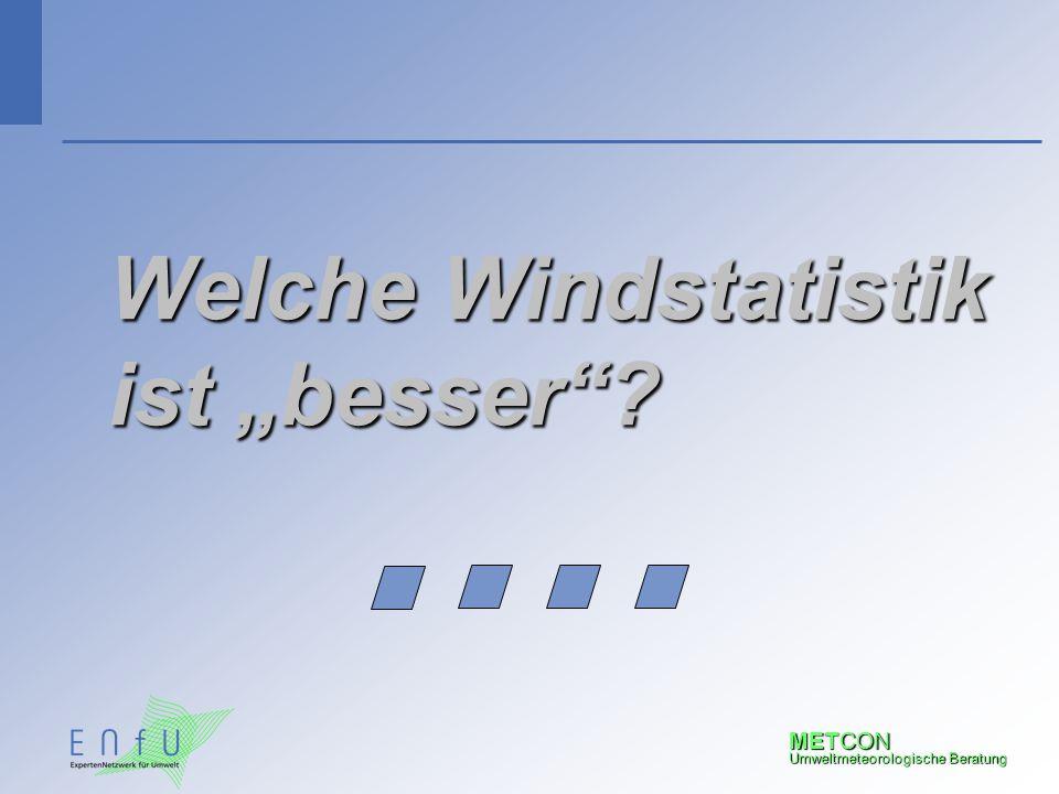 """Welche Windstatistik ist """"besser"""