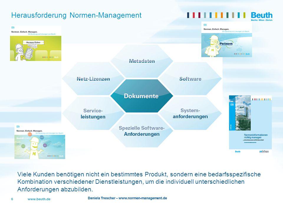 Herausforderung Normen-Management
