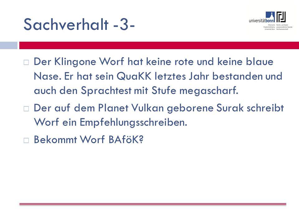 Sachverhalt -3-