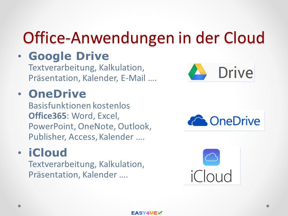 Office-Anwendungen in der Cloud