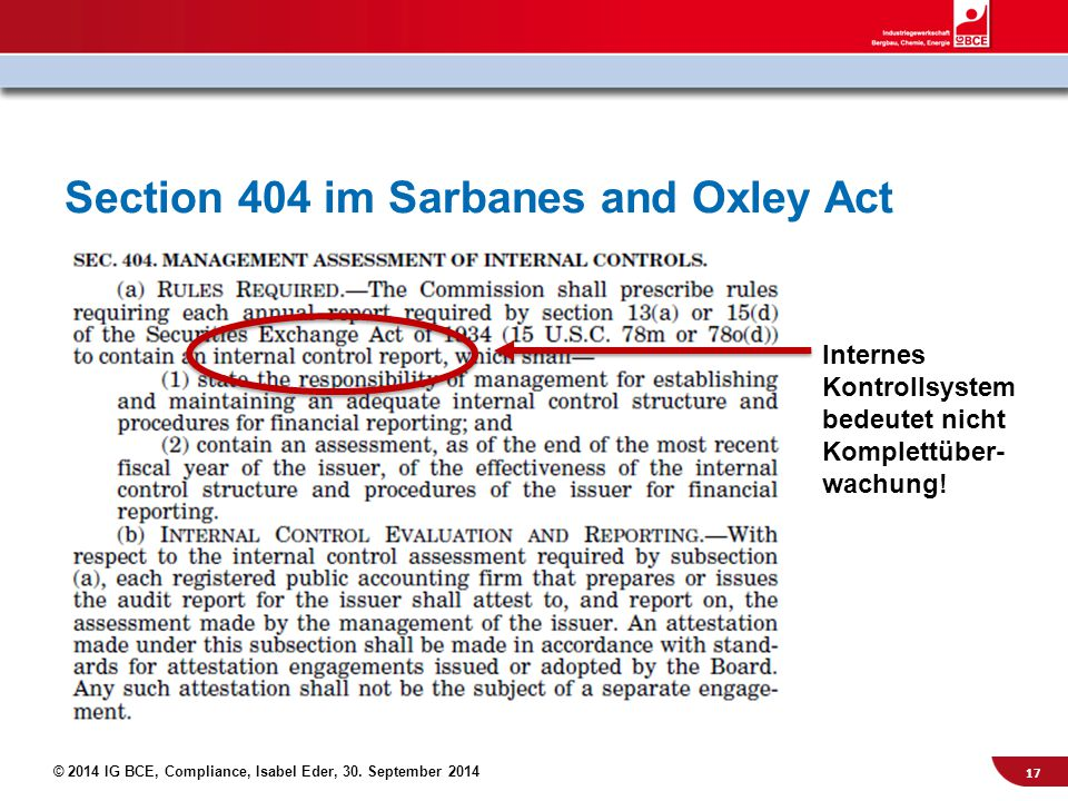sarbanes oxley act 2002 section 302 Home economy 4 serious pros and cons of the sarbanes-oxley act the sarbanes-oxley act was passed by us congress in 2002 as a legislative section 302.