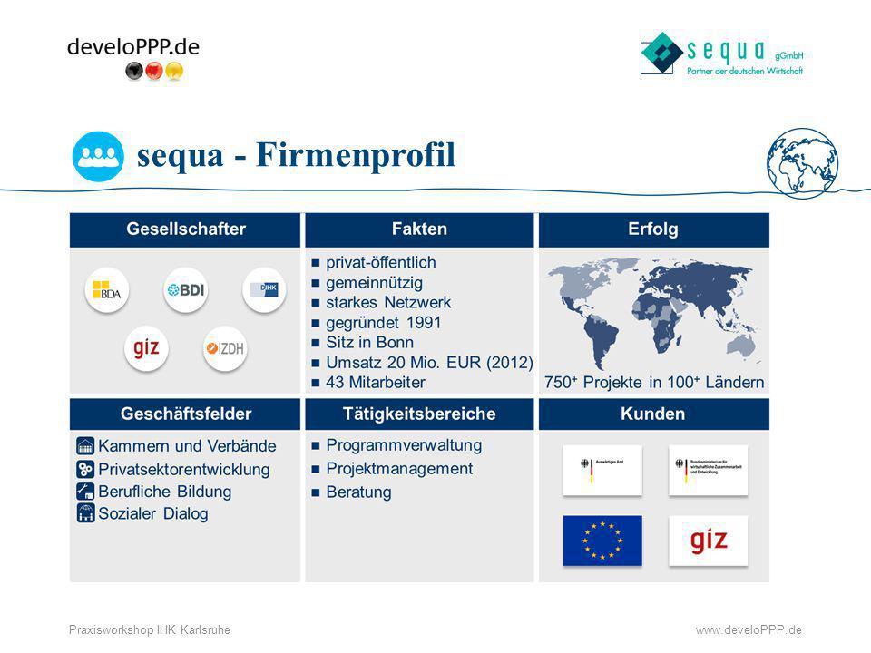 sequa - Firmenprofil