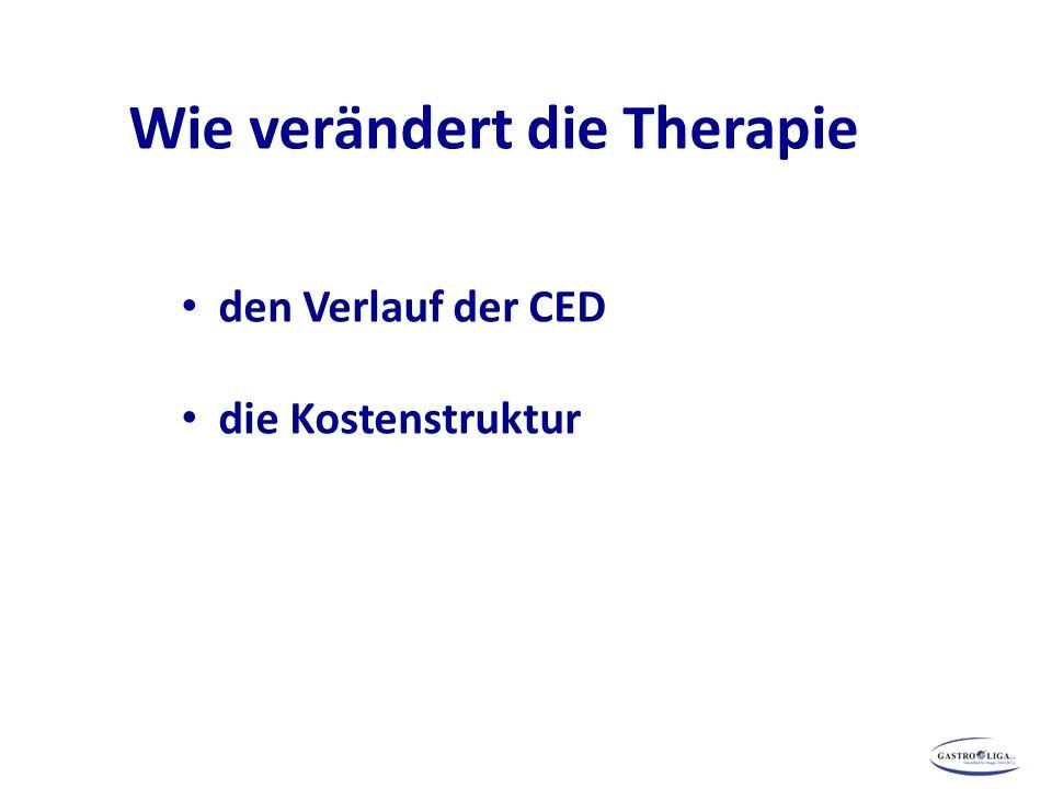 Wie verändert die Therapie