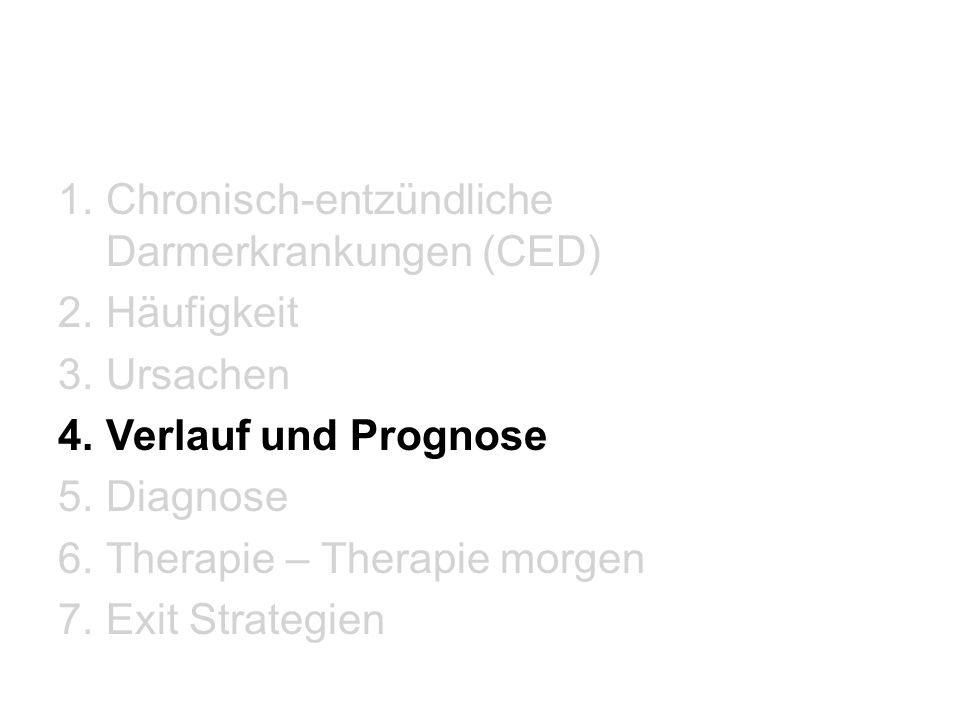 Chronisch-entzündliche Darmerkrankungen (CED)