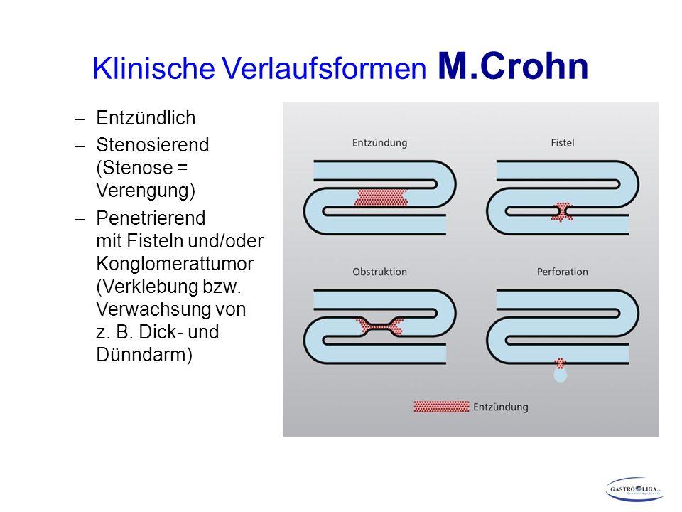 Klinische Verlaufsformen M.Crohn