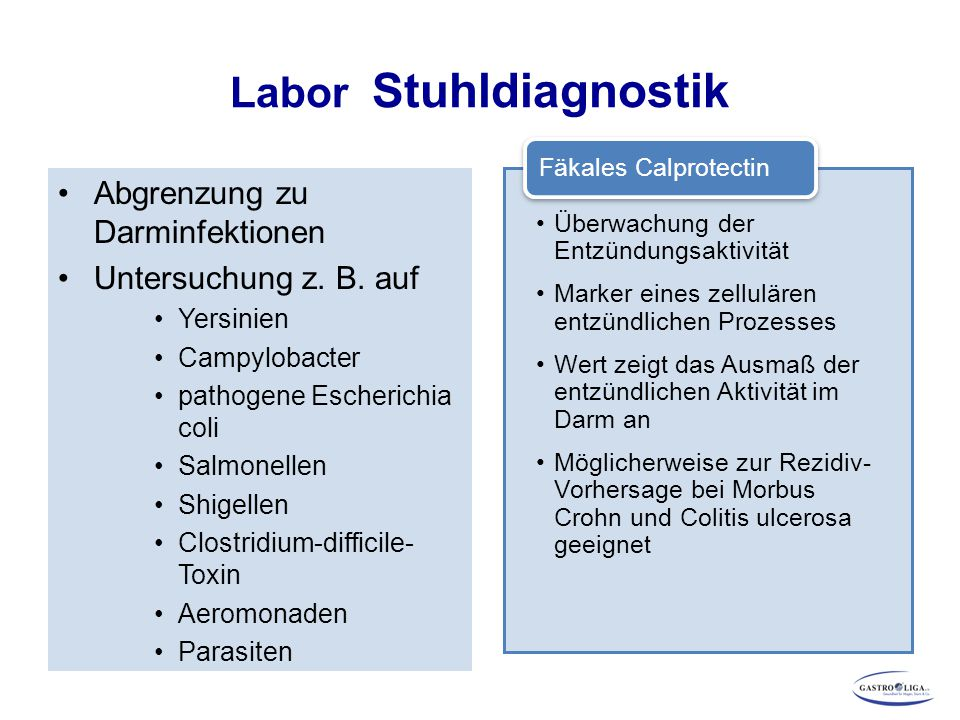 Labor Stuhldiagnostik