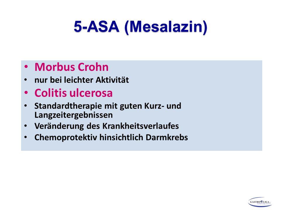 5-ASA (Mesalazin) Morbus Crohn Colitis ulcerosa