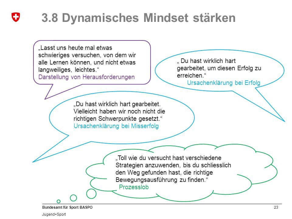 3.8 Dynamisches Mindset stärken