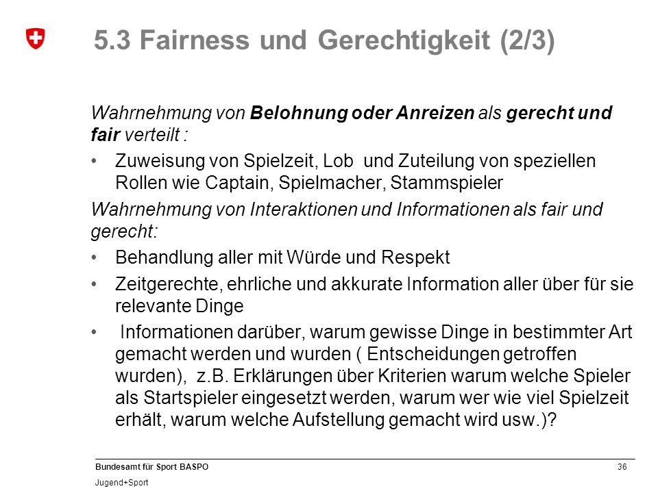5.3 Fairness und Gerechtigkeit (2/3)