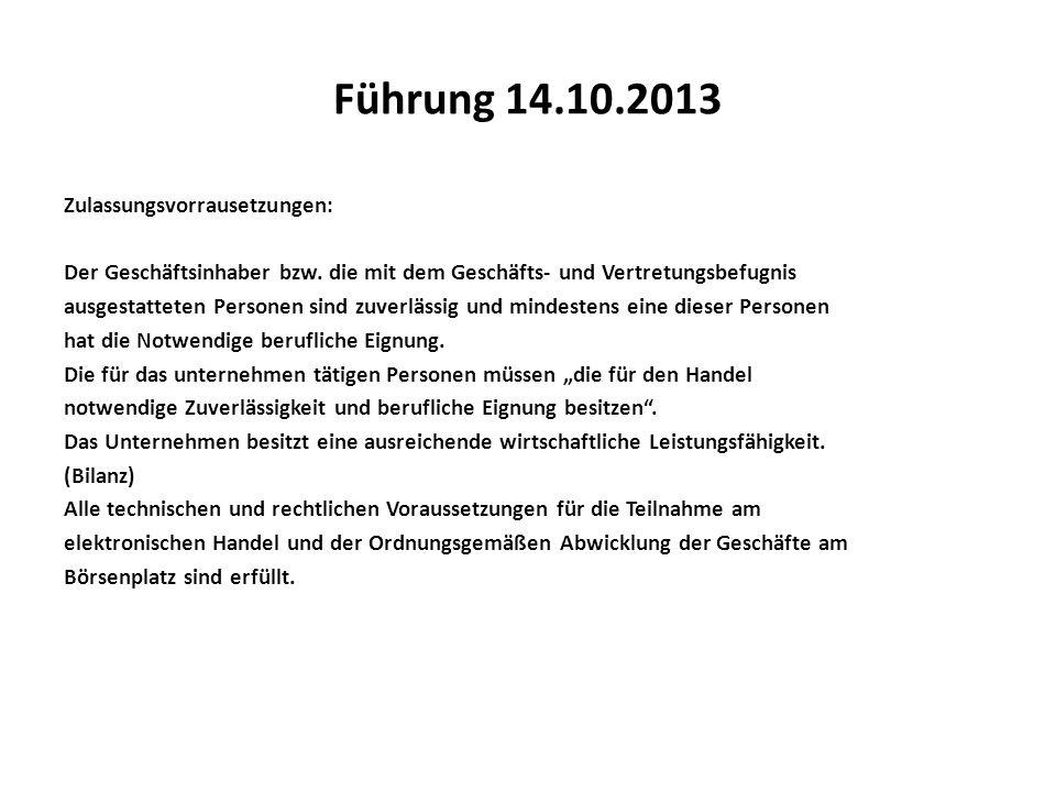 Führung 14.10.2013