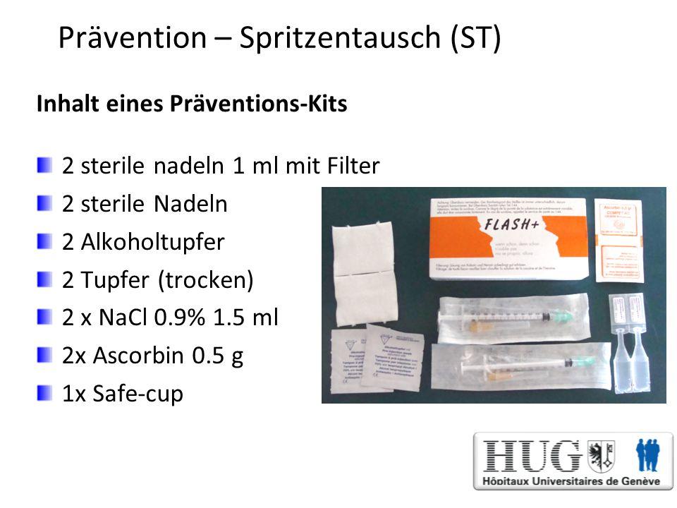 Prävention – Spritzentausch (ST)
