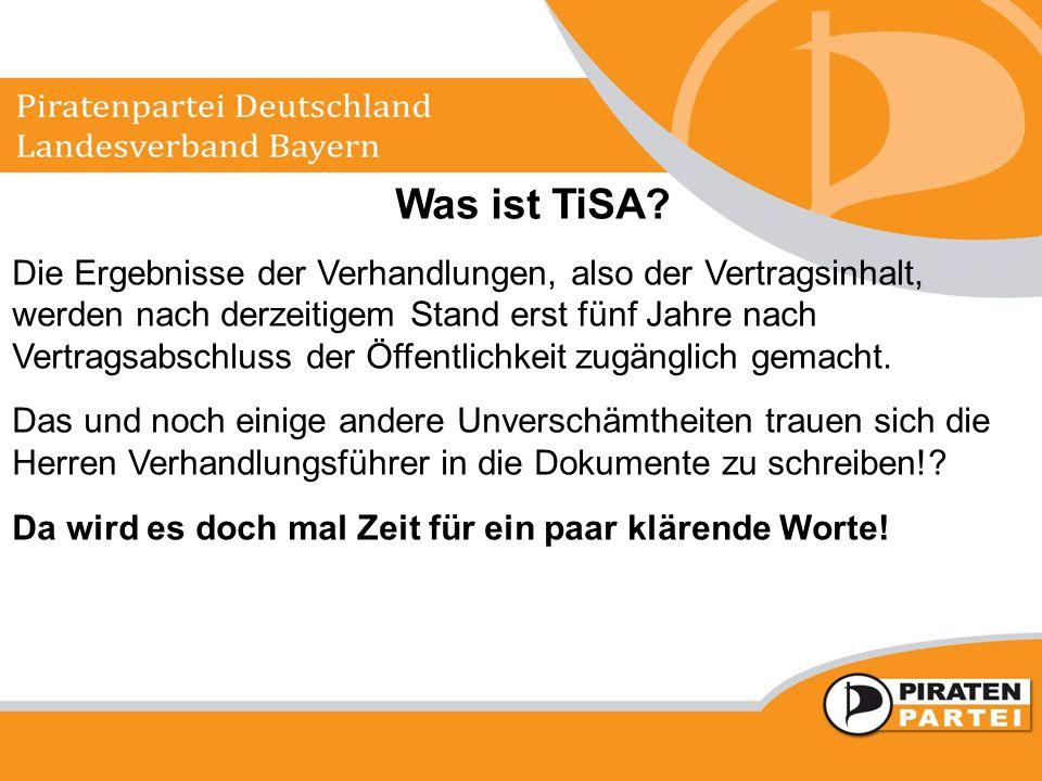 Was ist TiSA