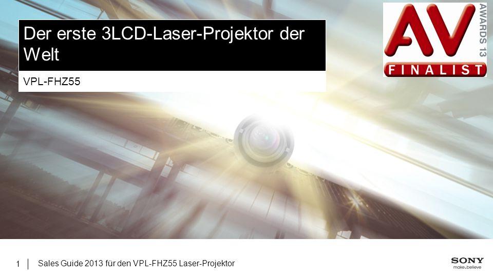 Der erste 3LCD-Laser-Projektor der Welt