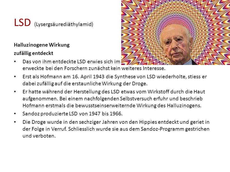 LSD (Lysergsäurediäthylamid)